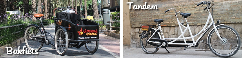 Bakfiets in Valencia