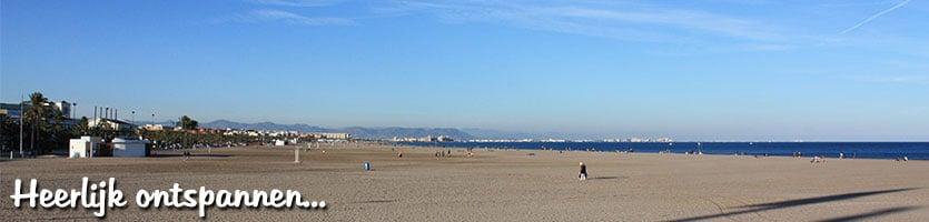 Las Arenas strand Valencia