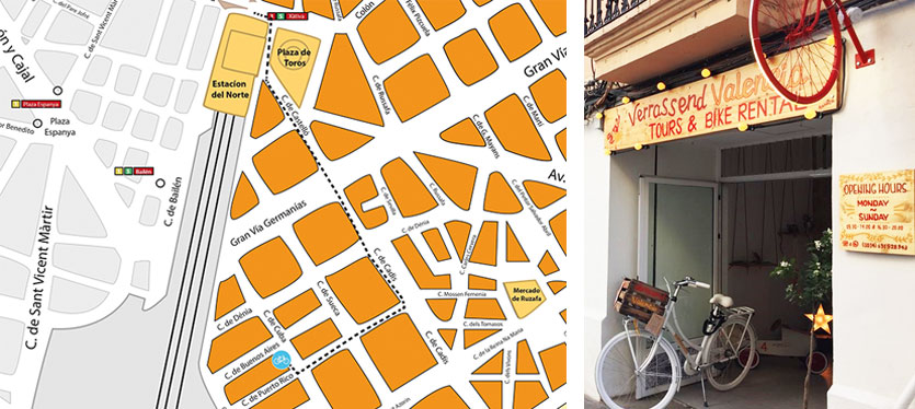 Verrassend Valencia fietsverhuur