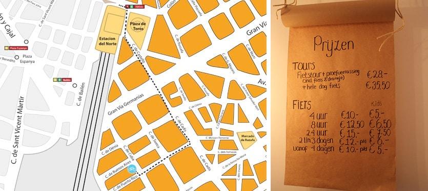 Verrassend Valencia tours and bike rental shop