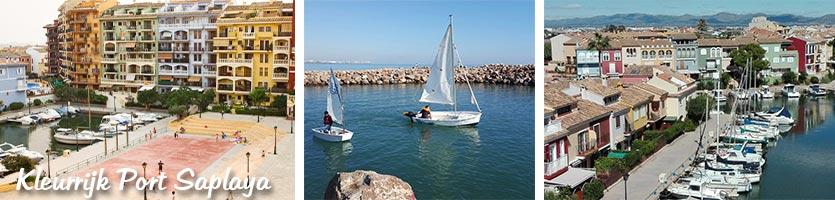 Port Saplaya omgeving Valencia