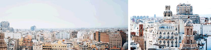 Fotografie Valencia skyline