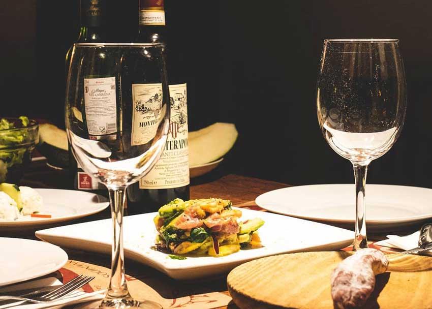 studiereis restaurants Lambrusqueria eten