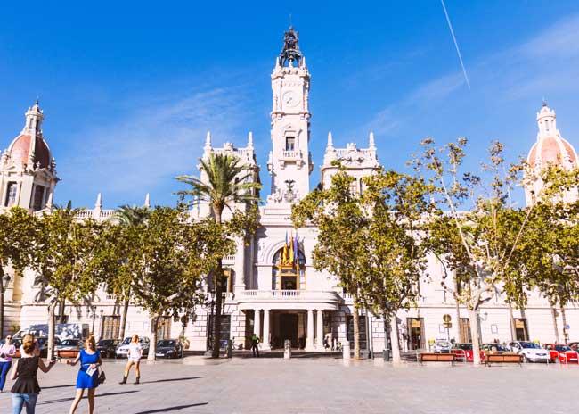 studiereis Plaza Ayuntamiento