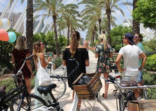 Studiereis fietstour