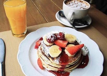 la petite brioche pancakes