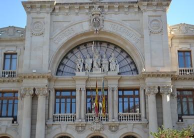 Postkantoor palacio de correos y telefrafos Valencia