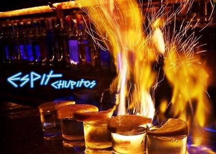 Nachtleven Valencia Espit Chupitos shotjes met vuur