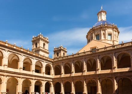 Klooster San Muguel de los reyes in Valencia