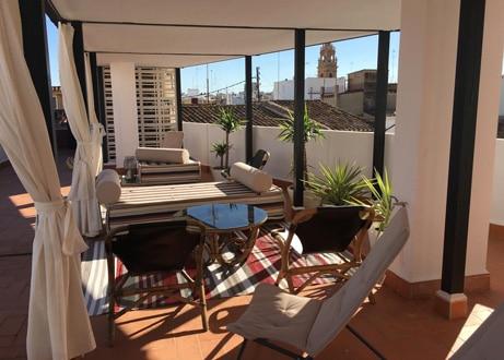 MD Design Hotel Portal del Real Valencia dakterras