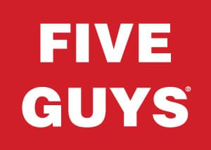 Five Guys Valencia logo