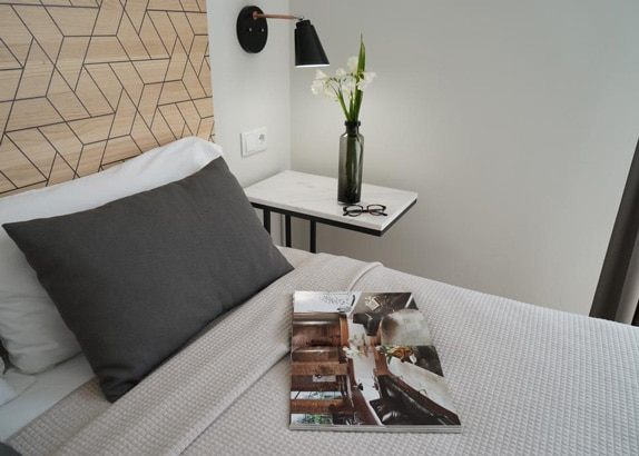 MD Design Hotel Portal del Real Valencia hotelkamer