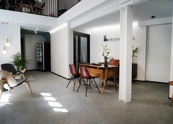 MD Design Hotel Portal del Real Valencia hal