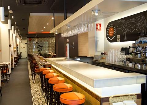 Mediterranea de Hamburguesas Valencia bar