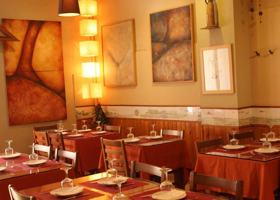 Vegetarisch restaurant Ana Eva restaurant