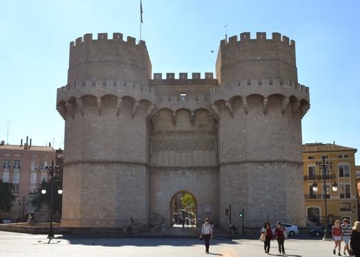 Torres de Serranos in Valencia