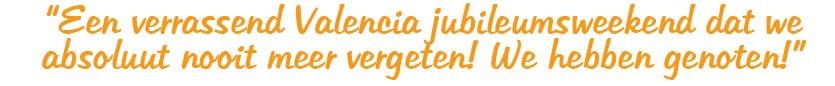 Weekamp Deuren bedrijfsuitje review Verrassend Valencia