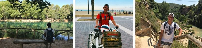 Dit is Benjamin van Verrassend Valencia. Hij vertelt je graag meer over Valencia en haar gastronomie tijdens de tapastour en fietstour.
