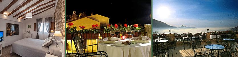 Het mooie landhuis Cases Noves in de buurt van Guadalest
