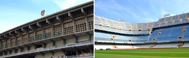 Mestalla stadion voetbal Valencia