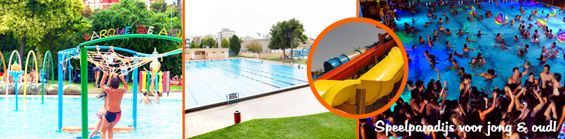 Zwembaden in valencia verrassend valencia for Piscina parque benicalap
