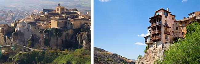 Cuenca hangende huizen