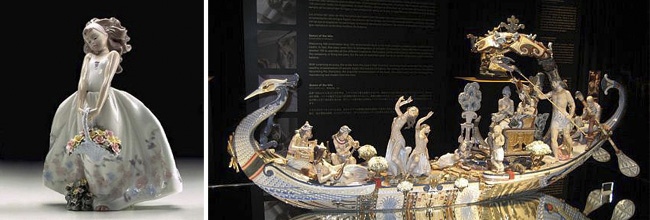 Museo Lladro queen of the nile