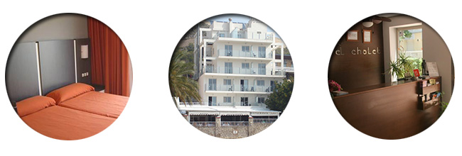 Cullera hotel El Chalet