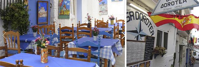 Peniscola restaurant Casa Dorotea