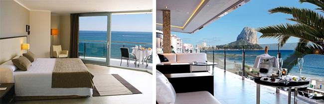 Calpe verrassend valencia for Hoteles en calpe playa